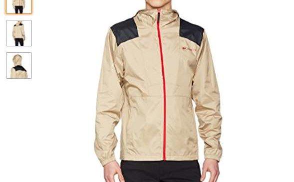 14,42€ la veste coupe pluie Columbia Flashback homme