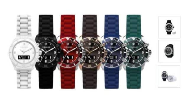 29,25€ montre connectée MyKronoz Zeclock port inclus