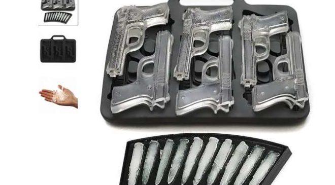 3,06€ la forme à glaçons pistolet et balles