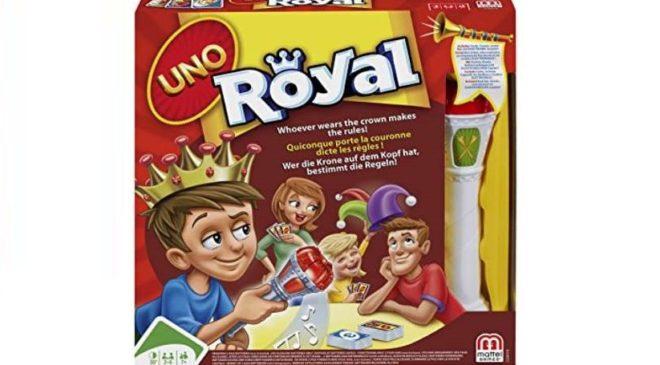 8,99€ le jeu Uno Royal Revenge Mattel