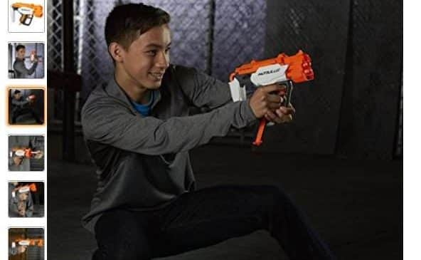 9,95€ le pistolet Nerf Modulus Barrelstrike ou Nerf Modulus Stockshot, 10,24€ Nerf Elite Modulus