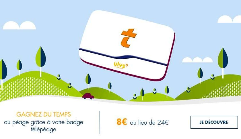 Badge Télépéage Vinci sans engagement – autoroutes et parking