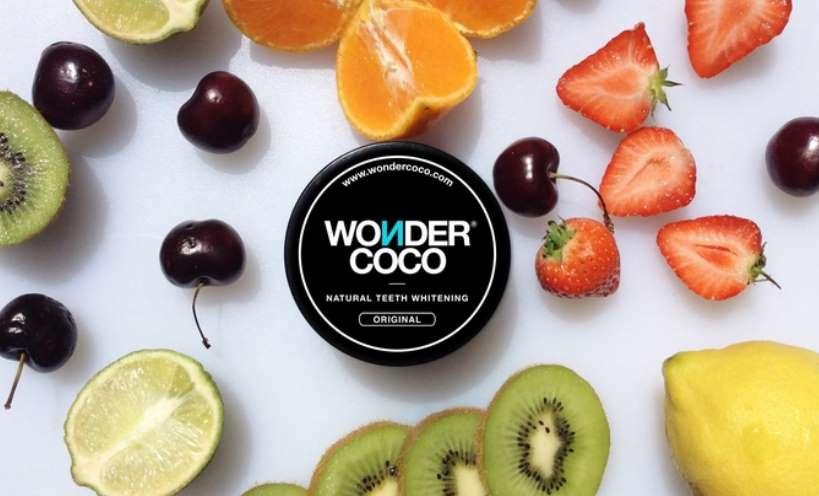 Bon d'achat Wondercoco - produit blanchiment des dents