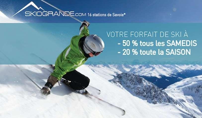 Carte Forfait Skiogrande à 5€