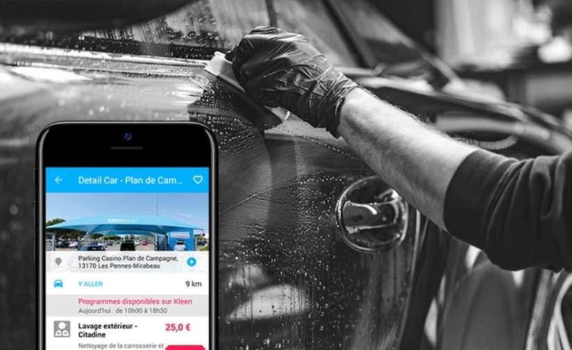 Carte lavage auto moitié prix 15€ les 30€ sur KLeen