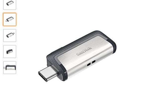 Clé USB Sandisk Ultra 128 Go USB 3.1 Type-C