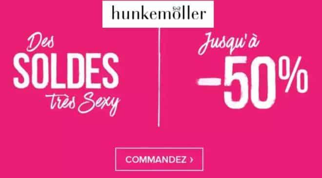 Les soldes Hunkemöller sont lancées