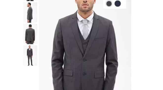 Moins de 12€ la veste Blazer classique Forever 21 port inclus (au lieu de 46,5€)