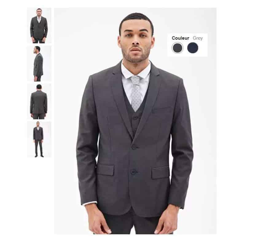 Moins de 12€ la veste Blazer classique Forever 21 port inclus