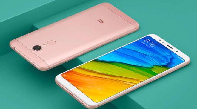 Moins de 153€ le smartphone Redmi 5 Plus XIAOMI Golden