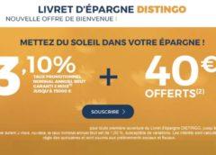 PSA Banque : livret d'épargne Distingo à 3,1% (non bloqué / sans frais gestion ni clôture / placement sécurisé)