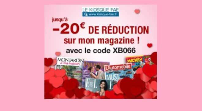 Saint Valentin offrez un abonnement magazine pas cher