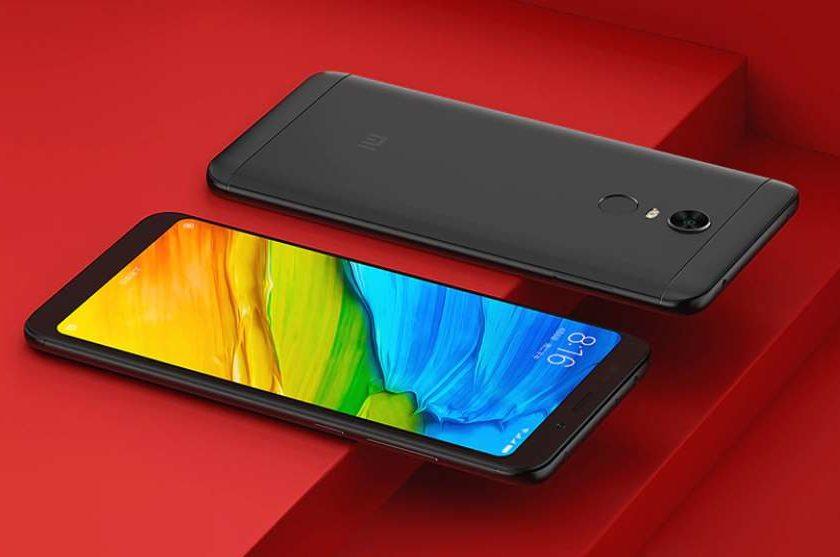 Smartphone Redmi 5 Plus Xiaomi 5.99 pouces pas cher