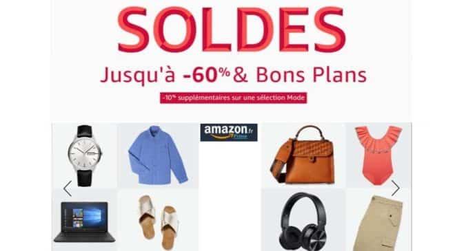 Soldes Amazon lancement