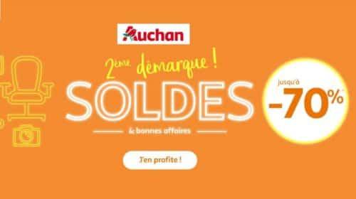 Soldes Auchan 2018