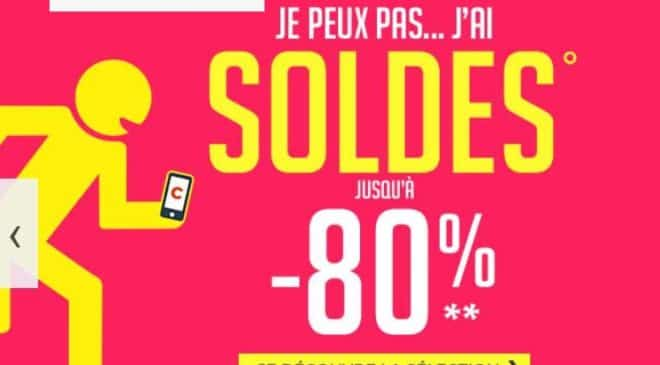Soldes CDiscount hiver 2018