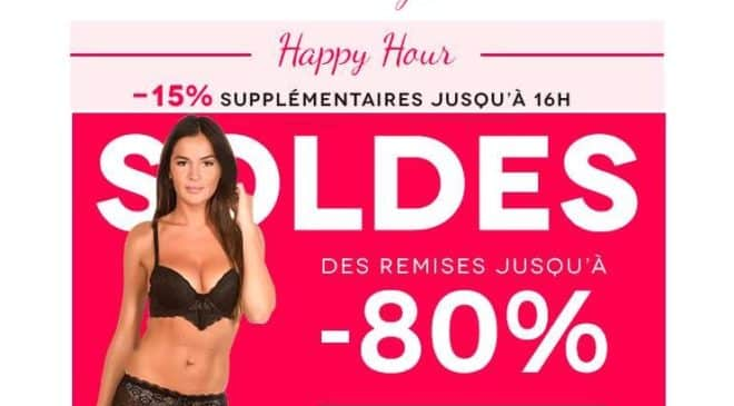 Soldes Mademoiselle Lingerie