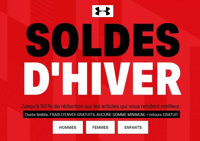 Soldes under armour jusqu 50 livraison gratuite - Code promo mister auto frais port offert ...
