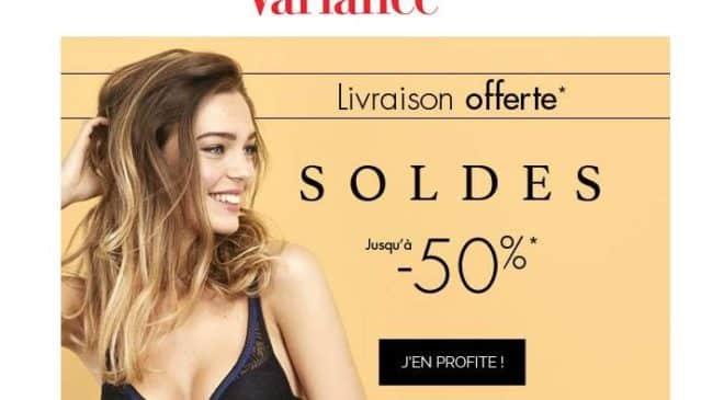 Soldes Variance Lingerie