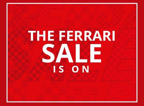 Soldes sur Ferrari store