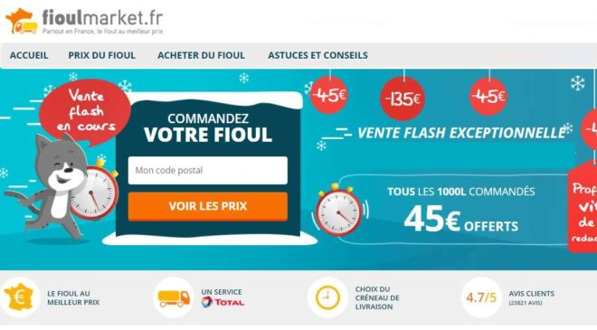 Vente Flash Fioulmarket
