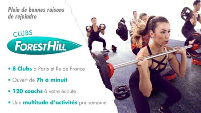 Vente privée Forest Hill - Aquaboulevard : abonnement 1 an illimité