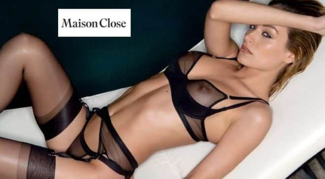 Vente privée Maison Close lingerie