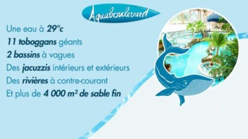 Vente privée billet Aquaboulevard