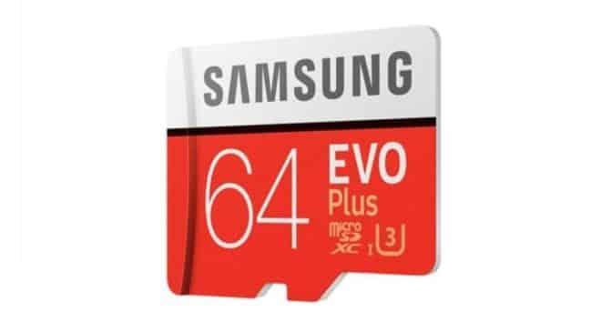 carte micro SDXC 64Go Samsung EVO UHS-3