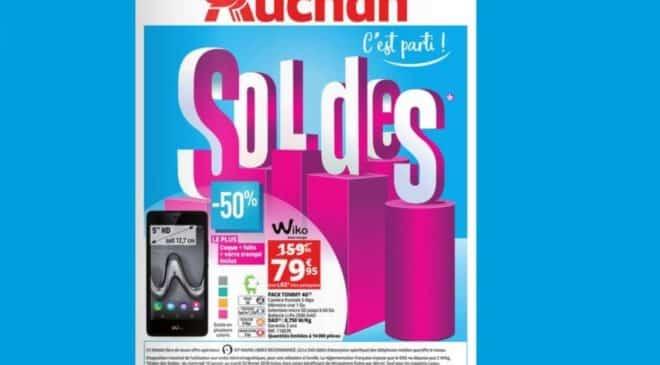 catalogue des soldes Auchan 2018