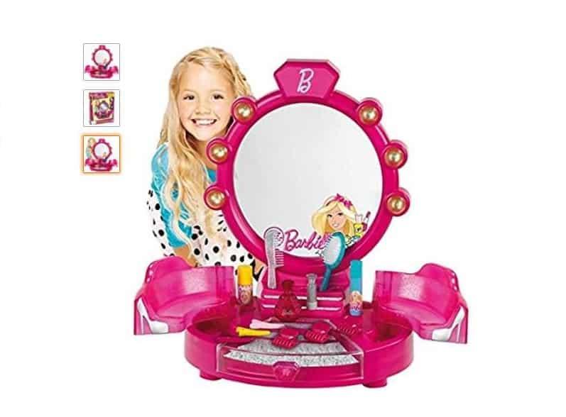 centre de beauté Barbie avec accessoires Klein pas cher