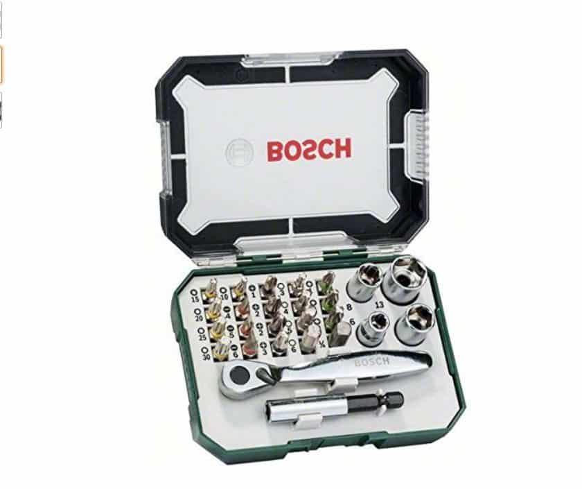 coffret clé cliquet Bosch 26 pièces pas cher