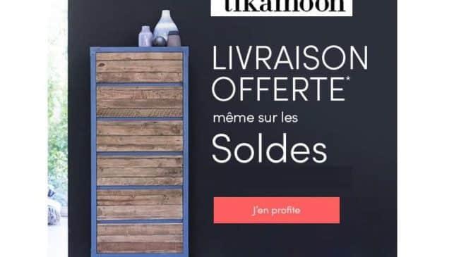 livraison gratuite sur Tikamoon