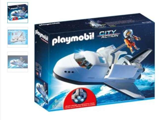 navette spatiale et spationautes Playmobil pas chere