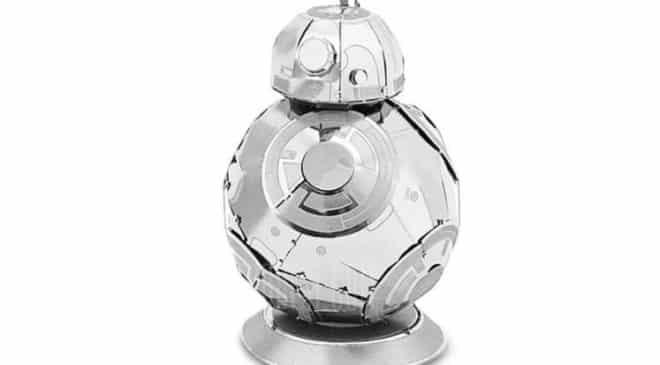seulement 2,02€ le robot BB-8 3D en métal à construire