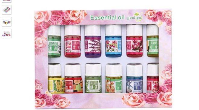 0,01€ le Kit Aromathérapie de 12 huiles essentielles 3ml
