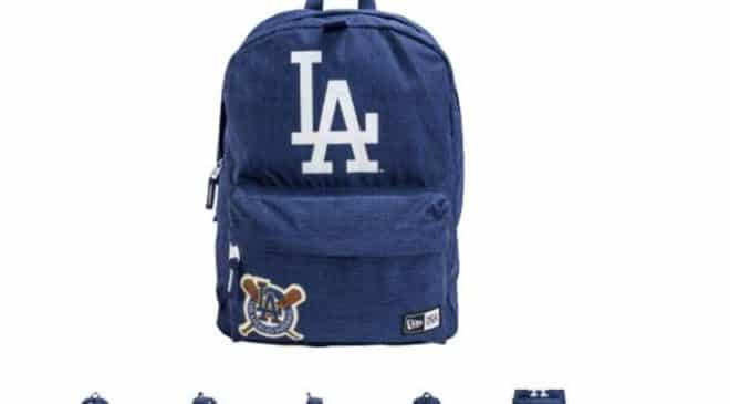 15€ le sac à dos New Era Heritage LA Dodgers port inclus