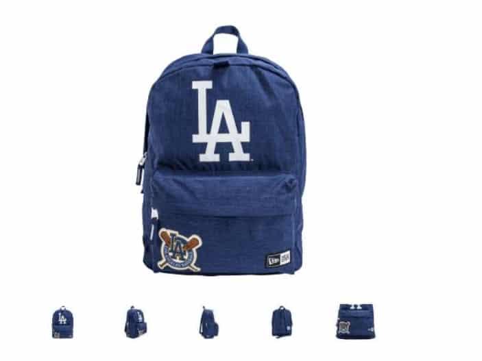 15€ le sac à dos New Era Heritage LA Dodgers port inclus
