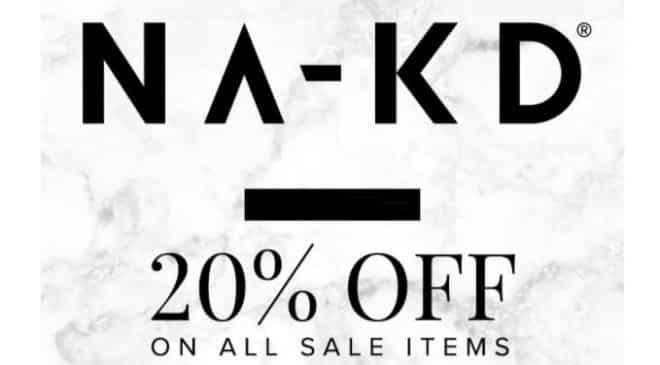 20% supplémentaire sur les soldes NA-KD (mode femme) + livraison gratuite