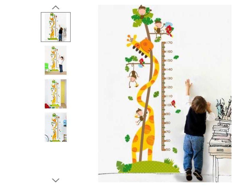 2,80€ la toise girafe pour enfant