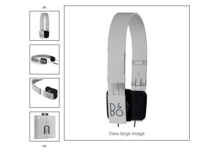 52,19€ casque audio Beoplay Form 2i Bang & Olufsen port inclus