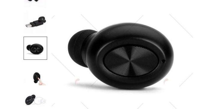 6,43€ oreillette sans fil Bluetooth – livraison gratuite