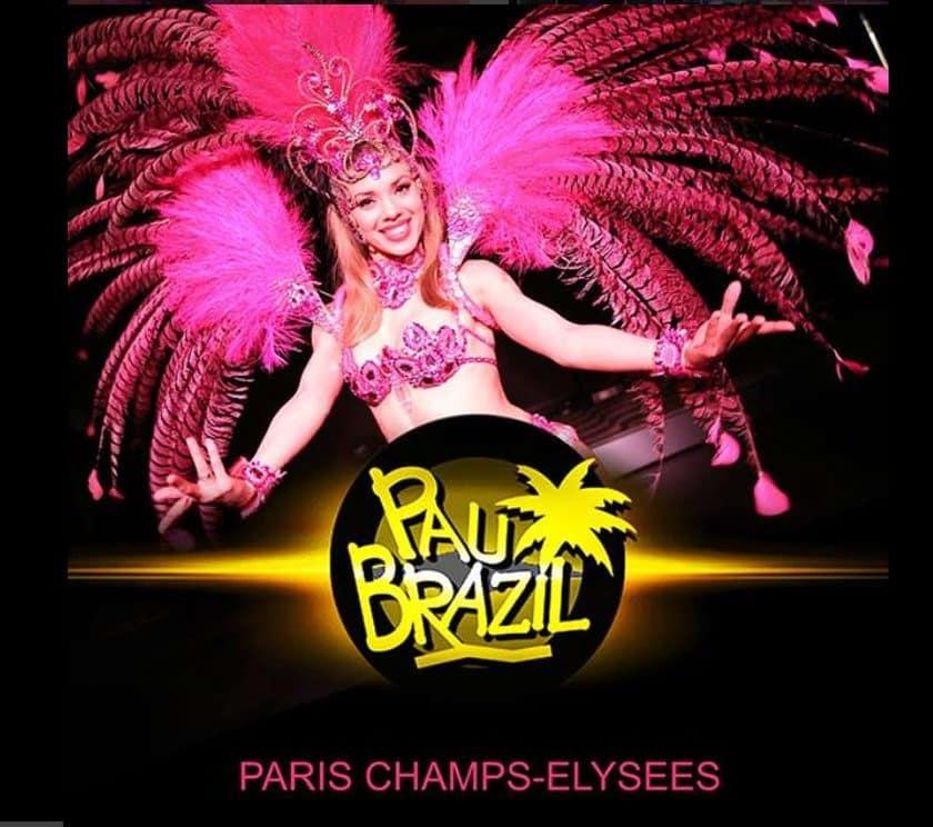 Cabaret Pau Brazil pas cher Paris
