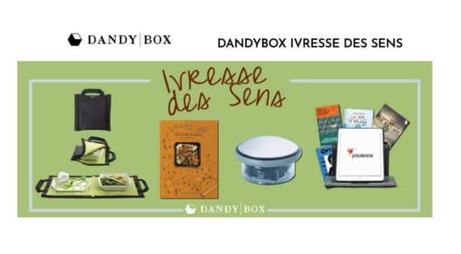37,05€ DandyBox Ivresse des sens (bouchon Le Creuset + lunch bag + 6 mois abonnement Youboox + livre Black & Blum + 2 surprises)