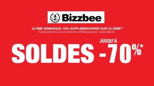 Dernière démarque Bizzbee