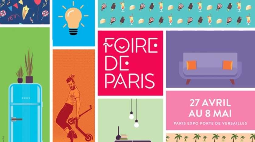 Entrée Foire de Paris 2019 moitié prix
