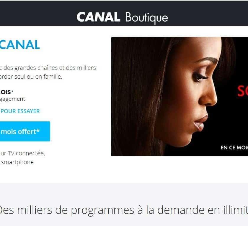 GRATUIT 1 mois d'abonnement à START by CANAL sans engagement