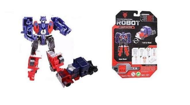 Mini Prix : 0,53€ le jouet Mini Transformer -
