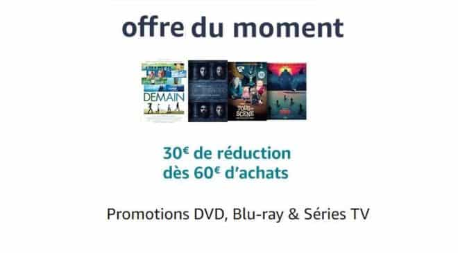 Offre DVD-Blu-Ray 30€ de remise