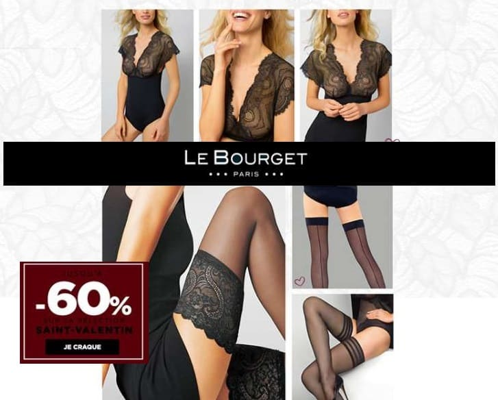 Offre Saint Valentin Le Bourget : jusqu'à -60% sur une sélection